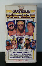 WWF Royal Rumble 1989 VHS Coliseum Video Randy Savage, Hulk Hogan, Ted Dibiase