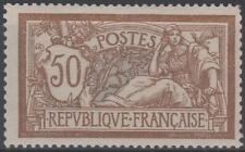 """FRANCE STAMP TIMBRE N° 120 """" TYPE MERSON 50c  BRUN ET GRIS 1900 """" NEUF xx TB"""