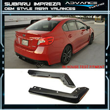 Fit For 2015-2016 Subaru Impreza WRX STI OE Style Rear Spat Valance Lip ABS