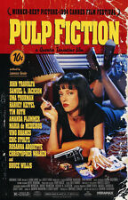 24X36Inch Art PULP FICTION Movie Poster Quentin Tarantino Bruce Willis P01