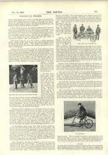 1896 The Cycle As A Fire Engine An Ice Cycle Football News