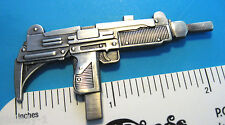 UZI MACHINE GUN - hat pin , lapel pin , hatpin , badge GIFT BOXED
