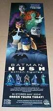 "34"" Jim Lee Batman DC Direct Hush action figure poster:Joker/Poison Ivy/Huntress"