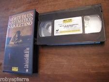 Videocassetta VHS Morte di un matematico napoletano VIVIVIDEO 1992 Martone Mario