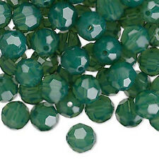 6 Palace Green Opal Swarovski Crystal 5000 Round Crystal Beads 8MM