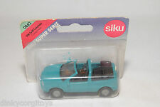 SIKU 0842 842 VW VOLKSWAGEN GOLF CABRIOLET CONVERTIBLE GREEN MINT BOXED