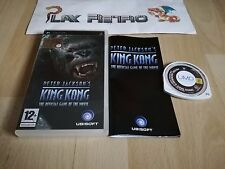 PSP PETER JACKSON'S KING KONG THE OFFICIAL GAME THE MOVIE  COMPLETO PAL ESPAÑA