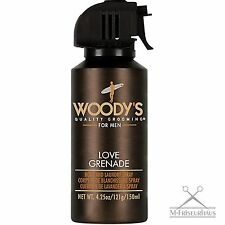 (€8,88/100ml) WOODY'S Deo Body Spray LOVE GRENADE 150ml mit Pheromonen f. Männer