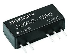 DC/DC 1W isolated converter 24V IN +/- 12V dual OUT MORNSUN E2412S-1W