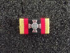*(A14-305) Ehrenkreuz  Bundeswehr Einzeltat SILBER  Ordenspange / Bandschnalle