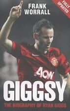 Giggsy: The Biography of Ryan Giggs, Worrall, Frank, New Books