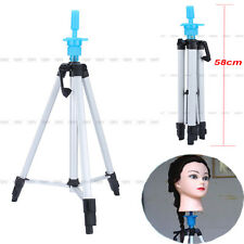 "55"" Cosmetology Mannequin Tripod For Training Head Doll Stand Holder & Carry Bag"