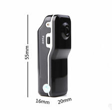 Black MD80 Mini DV Camera Hidden DVR Video Recorder Waterproof Sports Camcorder