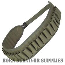 Jack Pyke Quality Olive Green Shotgun CARTRIDGE BELT Holds 26 Shooting Hunting