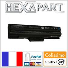 Batterie noire 11,1V 4800mAh pour Sony VAIO VGN VGP-BPS13B/S