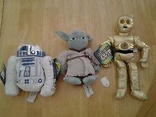 Star Wars 1997 Kenner Plush Toys