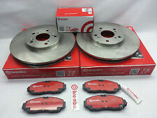 Genuine Brembo Set Rear Rotors + Ceramic Brake Pad + Sensor BMW X5 xDrive30i