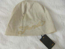 FENDI BEANIE HAT BEIGE 100%FINE KNIT COTTON MADE IN ITALY summer/autum bag/scarf