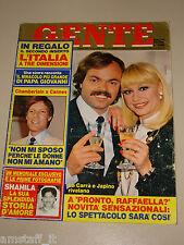 GENTE=1984/22=RAFFAELLA CARRA=marlene vermeulen=ISABELLA FERRARI=RALLY ATLANTE=