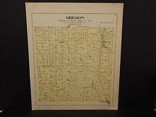 Wisconsin, Dane County Map, 1899 O2#11 Oregon Township
