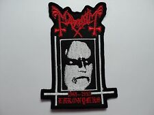 MAYHEM EMBROIDERED PATCH