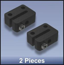 ANTI-BACKLASH DELRIN NUT (miniature) FOR CNC 8 mm M8 LEAD SCREW - 2 pieces