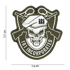 Patch pvc 3D sur scratch airsoft,paintball,loisir, 101 Incorporated