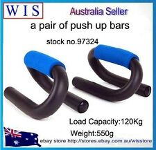 S Style Push Up Stand,Push Up Handles with Foam Grip For Exercise Muscles-97324