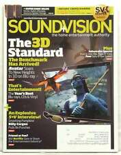 SOUND AND VISION MAGAZINE THE 3D TV STANDARD AVATAR BILLY CORGAN NETFLIX RARE!!!