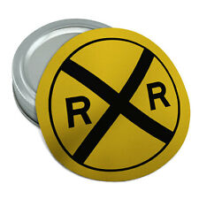 Railroad crossing Traffic Sign Train Rubber Non-Slip Jar Gripper Lid Opener