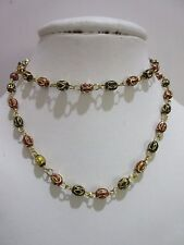 """Indian Designer Gold Plated 26""""Red Black Ball Chain Fashion Jewelry Necklaces"""