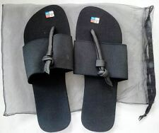 Beautiful & Unique Black FLIP FLOPS in size 42
