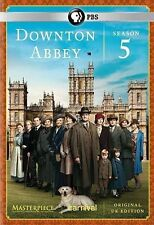 Masterpiece: Downton Abbey Season 5 DVD, Hugh Bonneville, Laura Carmichael, Mich