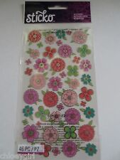 Sticko Stickers FLOWER TROPICS flowers leaves spring