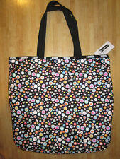 NEW* LESPORTSAC Lezip Large Travel Tote Bag HANDBAG PURSE Pop Heart Print