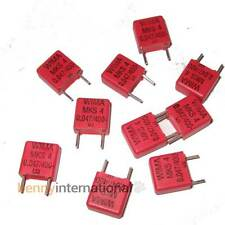10x 47nF 400V WIMA CAPACITORS Metalized Polyester Film 0.047uF - AUS STOCK