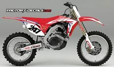 Honda Ken Roczen CR 250 Graphics Decals all years 1990 to present