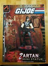 G.I. Joe Palisades Zartan Mini Statue