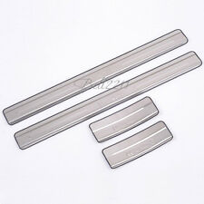For Nissan March 2010-2012 New Stainless Steel Door Sill Scuff Plate