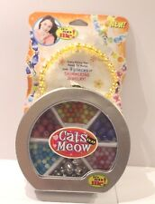 It's So Me! Cats Meow Bead Jewelry Craft Kit Makes Necklaces or Bracelets NEW