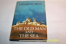 The Old Man and the Sea by Ernest Hemingway 1952 B.O.M.C. hardcover w/jacket USA