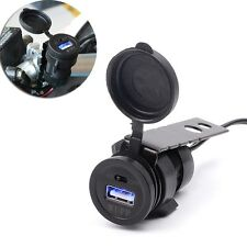 Hot Motorcycle USB Charger 5V 2.1A Mobile Phone Power Socket Motorbike Accessory