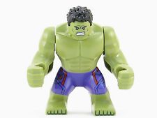 LEGO Marvel Super Heroes Incredible Hulk Minifigure Mini Fig Purple Pants