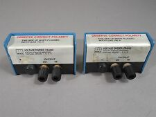 Lot of 2 ESI CA6042 Voltage Divider 10kΩ 100V