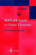 MATLAB Guide to Finite Elements : An Interactive Approach-ExLibrary