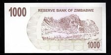 BANK NOTE WORLD FROM ZIMBABWE IN AFRICA, 1 BEARER CHEQUE OF $1000, 2007 UNC