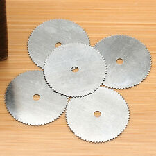 5x 32mm Steel Wood Cutting Wheel Saw Blade Disc Dremel Rotary Tool Home Crafts