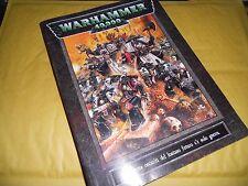 WARHAMMER 40k-40000-REGOLAMENTO-IL LIBRO DELLE REGOLE-40.000-MANUALE ED.1998