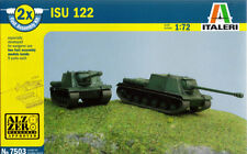 Italeri 1/72 (20mm) ISU-122S (2 x Fast Assembly Kit)