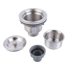 Stainless Steel Kitchen Sink Drain Assembly Waste Strainer and Basket